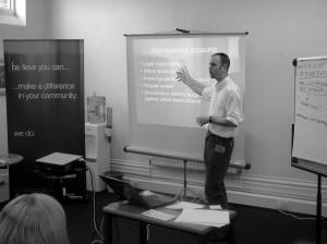Adrian Ashton leading workshop