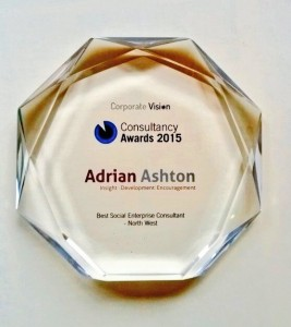 Adrian Ashton best social enterprise consultant