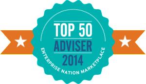 Top 50 Adviser Badge - transparent background